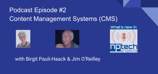 NPTechProjects podcast Episode - 2 - CMS coverimage wide