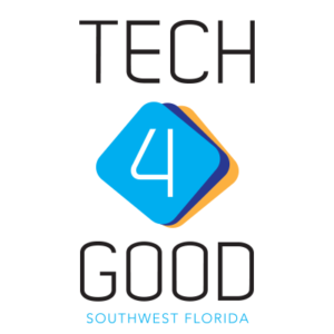 Logo Tech4Good SWFL with link to the membership site.